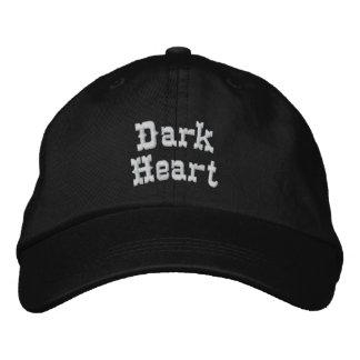Dark Heart Embroidered Hats