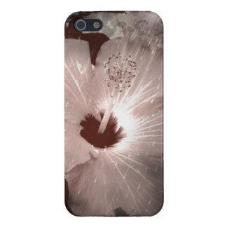 Dark hibiscus cover for iPhone SE/5/5s