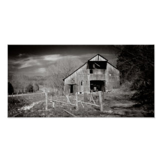 Dark Hollow Barn Poster