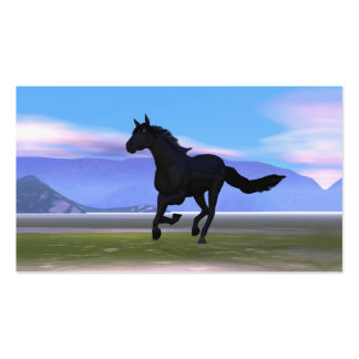 Dark Horse - Business Double-Sided Standard Business Cards (Pack Of 100)