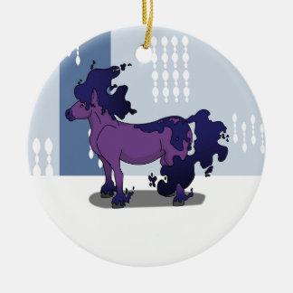 Dark Horse Ceramic Ornament