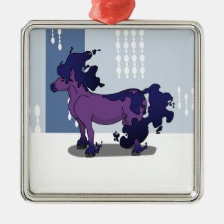 Dark Horse Metal Ornament