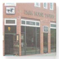 Dark Horse, Virginia Highland Atlanta Marble Stone Stone Coaster