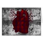 Dark Human Heart Card