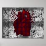 Dark Human Heart Poster