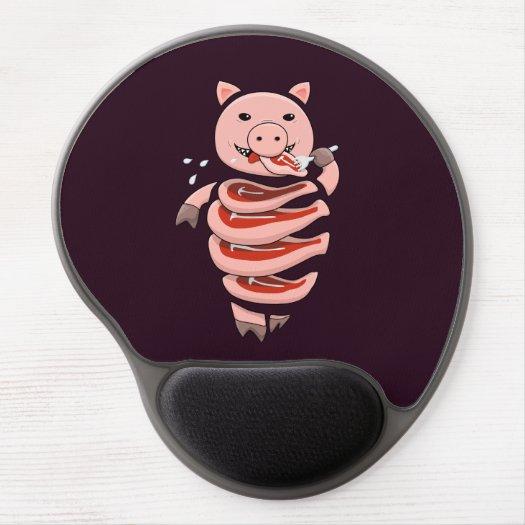 Dark Hungry Self Eating Cut In Steaks Pig