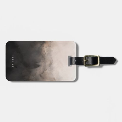 Dark Ink Luggage Tag