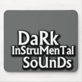 Dark Instrumental sounds music Mouse Pad