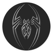 Dark Iron Spider Classic Round Sticker