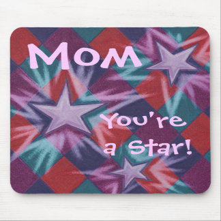 Dark Jester 'Mom You're a Star' mousepad