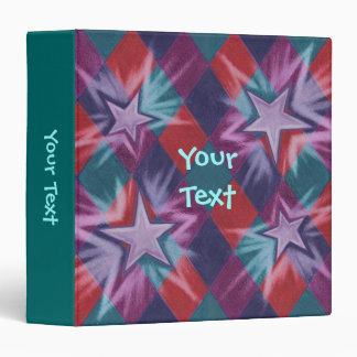Dark Jester 'Your Text' green binder
