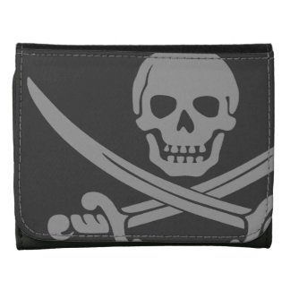 Dark Jolly Roger Wallet