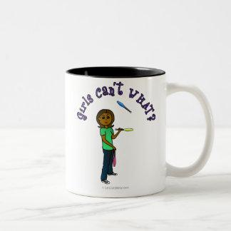 Dark Juggler Two-Tone Coffee Mug