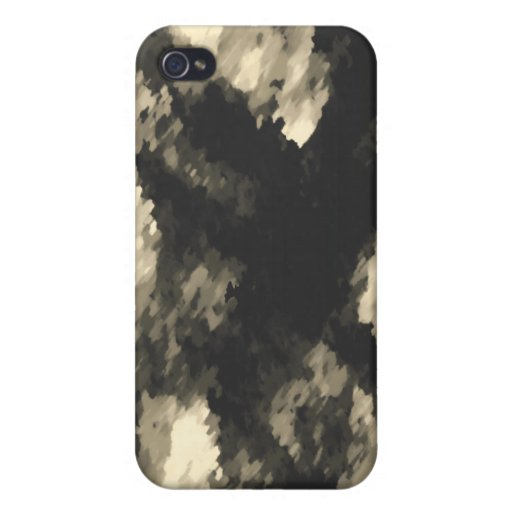 Dark Jungle Camouflage Cover For iPhone 4