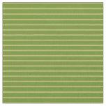 [ Thumbnail: Dark Khaki and Green Colored Pattern Fabric ]