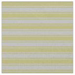 [ Thumbnail: Dark Khaki and Grey Colored Lines Pattern Fabric ]