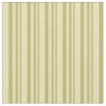 [ Thumbnail: Dark Khaki and Tan Pattern of Stripes Fabric ]