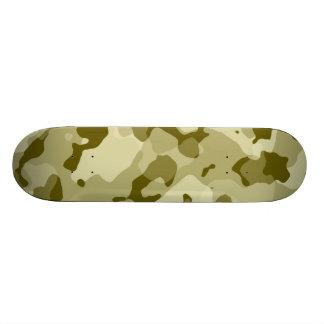 Dark Khaki Camo; Camouflage Skateboard Deck