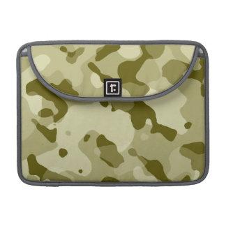 Dark Khaki Camo; Camouflage Sleeve For MacBook Pro