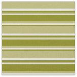 [ Thumbnail: Dark Khaki, Green, and Mint Cream Colored Lines Fabric ]