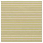 [ Thumbnail: Dark Khaki & Pink Colored Striped Pattern Fabric ]