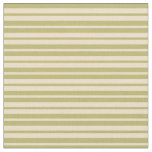 [ Thumbnail: Dark Khaki & Tan Colored Striped/Lined Pattern Fabric ]