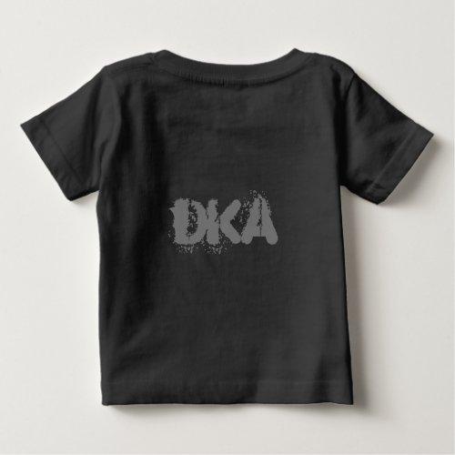 Dark Kitty Army Baby Tshirt black logo
