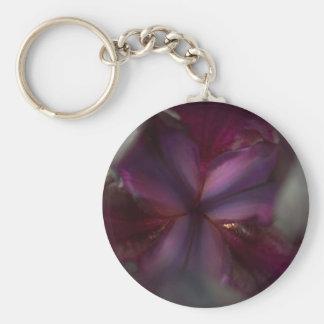 Dark Knight  - Abstract flower series 2 Basic Round Button Keychain