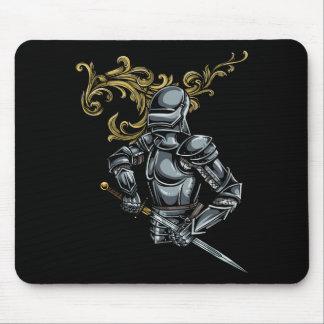 Dark Knight Armour Mouse Pad