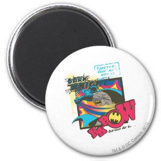 Dark Knight KA-POW 2 Inch Round Magnet