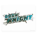 Dark Knight Logo Postcard