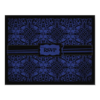 Dark Knight Wedding RSVP Card
