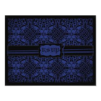 Dark Knight Wedding RSVP Card D2