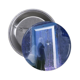dark knockings long exposure ghost photography pinback button