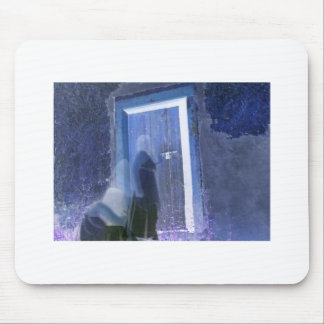 dark knockings long exposure ghost photography mouse pad
