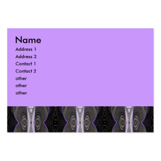 dark lace abstract business cards