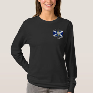 Dark ladies long-sleeve with StABVC logo T-Shirt