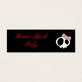 Dark Lady Bookmark Mini Business Card