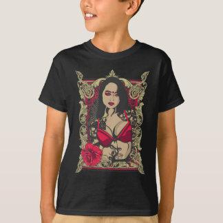 Dark Lady Rose T-Shirt