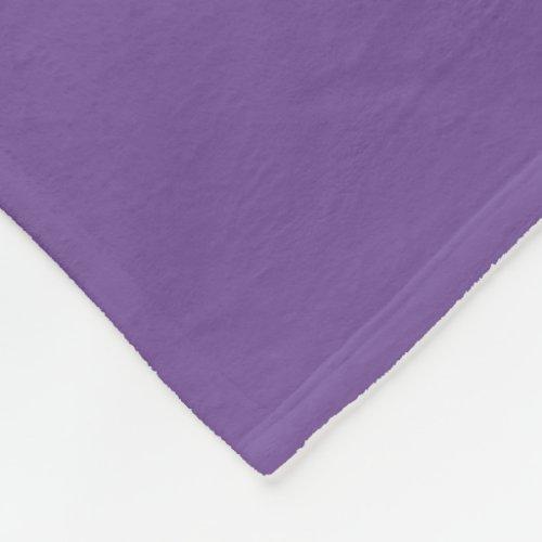 Dark Lavender Blanket