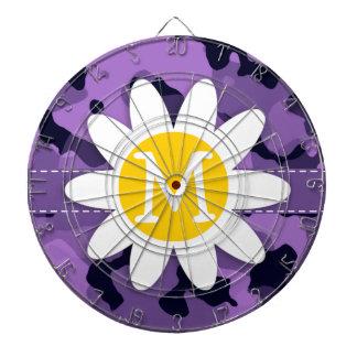 Dark Lavender Camo; Daisy Dart Boards