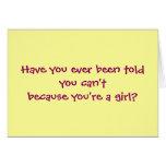 Dark Lawn Care Girl Cards