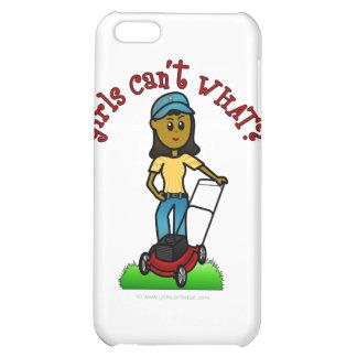 Dark Lawn Care Girl iPhone 5C Case