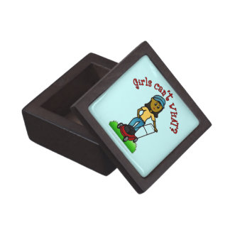 Dark Lawn Care Girl Premium Gift Box