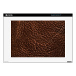 Dark Leather Texture Skin For Laptop