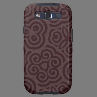 Dark & Light Abstract Pattern Samsung Galaxy S3 Cover