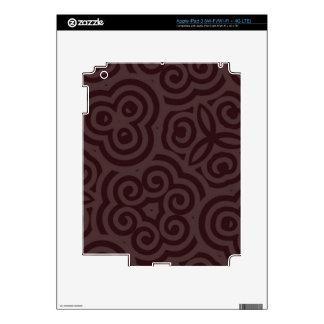 Dark & Light Abstract Pattern iPad 3 Skin
