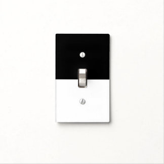 dark / light ~ on / off switch plate cover