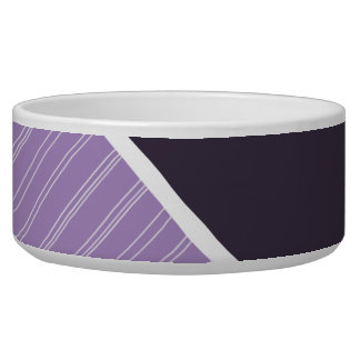 Dark & Light Purple Pet Bowls