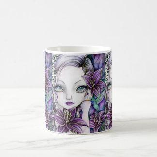 """Dark Lilies"" mug"